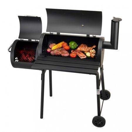 Többfunkciós Kerti grill füstölővel 4 az 1 ben Activa