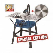 Asztali körfűrész + fűrészlap 48 f., 2000 W, Scheppach HS 100 S Special edition