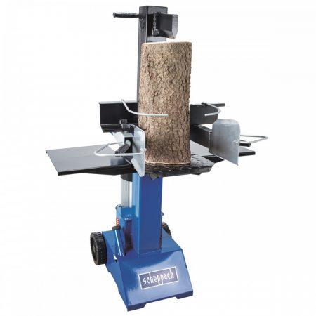 Függőleges Rönkhasító, 8 t, 3500W, 400V, Scheppach HL 810