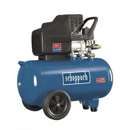Olajkenésű Kompresszor 50 l, 1800W, 10 BAR, Scheppach HC 51
