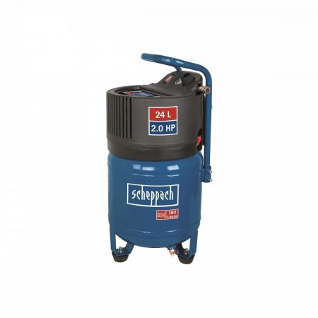 Olajmentes Vertikális Kompresszor 1500 W, 24 l, 10 BAR, Scheppach HC 24 V