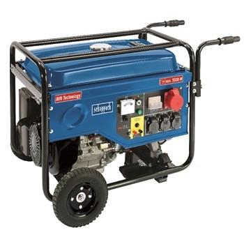 Benzinmotoros Áramfejlesztő, Aggregátor, AVR szabályozással, 5500 W, Scheppach SG 7000