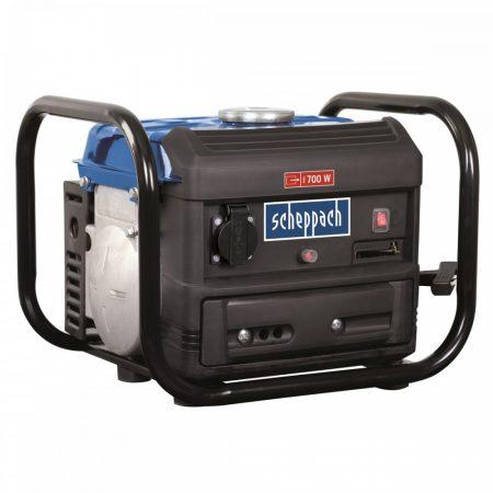 Benzinmotoros Áramfejlesztő, Aggregátor, 700 W, Scheppach SG 1000
