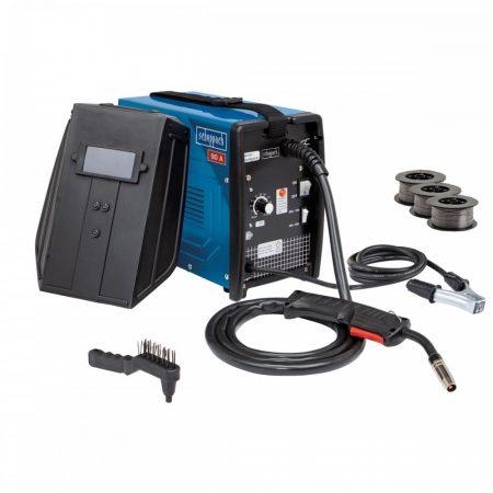 Fogyóelektródás Hegesztőgép, tartozékokkal, Scheppach WSE3200
