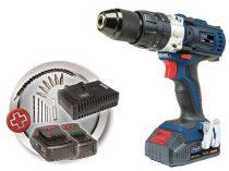 Akkumulátoros 2-sebességes Ütvecsavarozó / -fúró, 20 V, 2Ah, Scheppach CID40-20Li