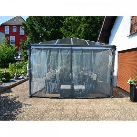 Szúnyogháló (FEKETE) Palram Palermo 3000 és 3600 kerti pavilonhoz