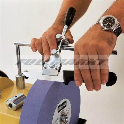 Persely/Tartó kések élezéséhez 40-100 mm-ig, Tiger 2000, 2500 és 3000 VS-hez, Scheppach JIG 60