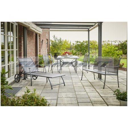 Royal Garden EXCELSIOR SET 1 acél fémháló kerti garnitúra szett