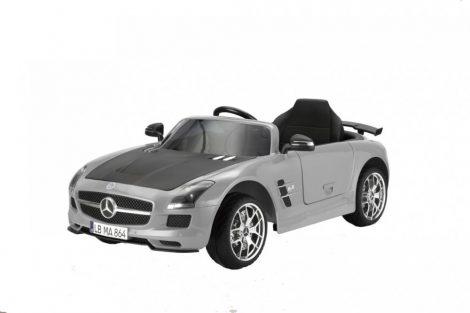 Elektromos, Akkumulátoros Kisautó Gyerekeknek Mercedes Benz SLS-AMG-GREY