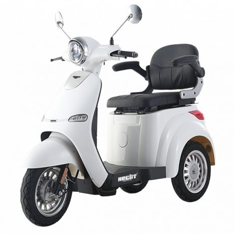 Elektromos/Akkumulátoros Háromkerekű Robogó, 800W, HECHT CITIS MAX-WHITE