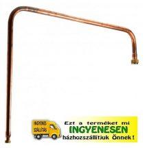 Összekötő rézcső 50 literes pálinkafőzőhöz, Perfect Home 10482