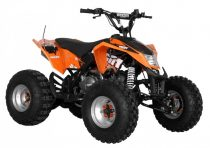Benzinmotoros Quad, 125 cm3, 7,6 LE, HECHT 54125 ORANGE