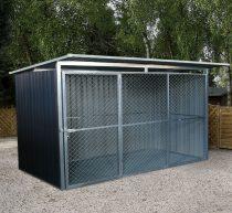 Kutyaketrec, Kutyakennel 260 x 220 cm, szürke, G21 KEN 572