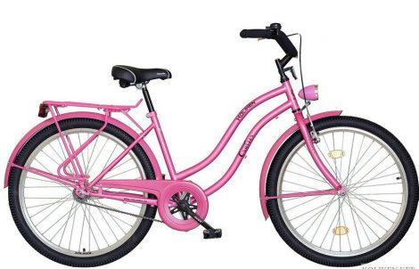 """26""""CRUISER túra női kerékpár, rózsaszín, KOLIKEN"""