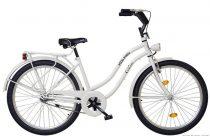 """26""""CRUISER túra női kerékpár, fehér, KOLIKEN"""
