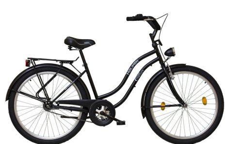 """26""""CRUISER túra női kerékpár, fekete, KOLIKEN"""