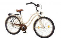 "26""CRUISER női kerékpár, CITY LATTE,  KOLIKEN"