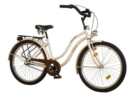 """26""""CRUISER komfort női kerékpár CITY LATTE"""