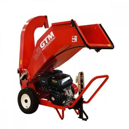 Ágaprító, benzinmotoros, 389cm3 / 13LE, GTM PROFESSIONAL GTS 1300 G