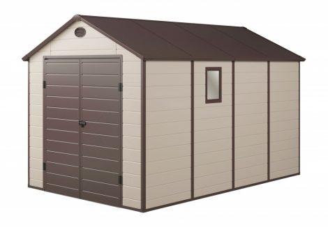 Kerti ház, Szerszámtároló, 241 x 366 cm, műanyag, PAH 882 bézs